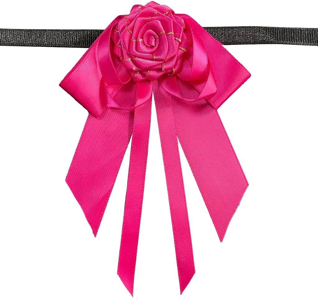 UXZDX CUJUX Handmade Bow Tie High-end Men's Business Banquet Wedding Suit Shirt Accessories Bowtie Gift (Color : Pink)