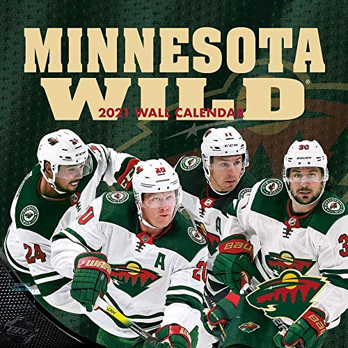TURNER Sports Minnesota Wild 2021 12X12 Team Wall Calendar (21998011944)