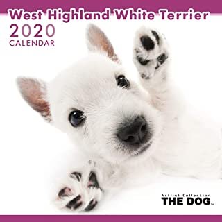 The Dog Wall Calendar 2020 West Highland White Terrier