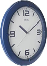 Seiko Modern Wall Clock Blue mat Colour QXA767LLS