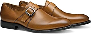 The Daxton: Hand Crafted Men's Leather Monk Strap Formal Dress Shoe