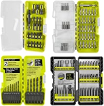RYOBI Black Oxide Drill and Drive Multi-Pack 130-Piece Bit Set