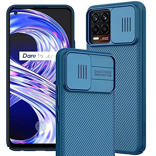 IEMY Funda para Realme 8 4G / Realme 8 Pro 4G, [Protección de la cámara] Estuche Protector Ultra Delgado TPU Premium Elegante para Realme 8 4G / Realme 8 Pro 4G - Azul