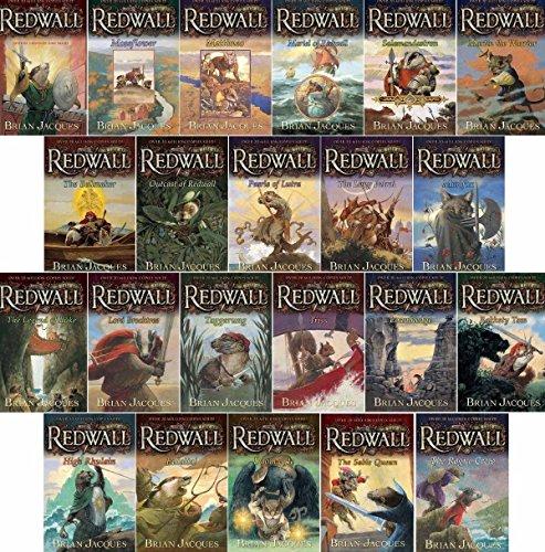 Redwall Set Complete! Full Size Paperback