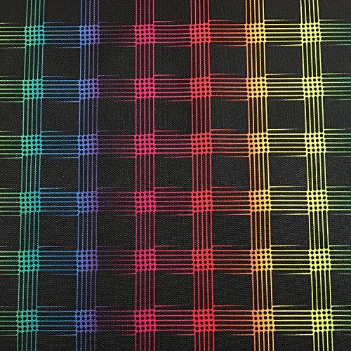 Erstklassiger Polyester Oxford 250D 1lfm - Wasserabweisend, Winddicht, Outdoor Stoff, Gartenmöbel Stoff - Muster 03
