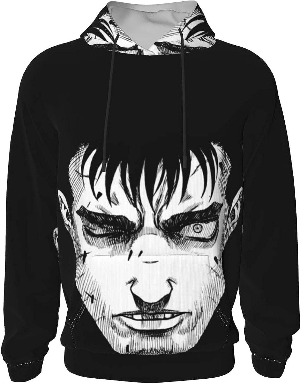 Berserk Guts Anime Hoodie Max 88% OFF Teens Outdoo Boy Sweatshirt Loose Topics on TV girl