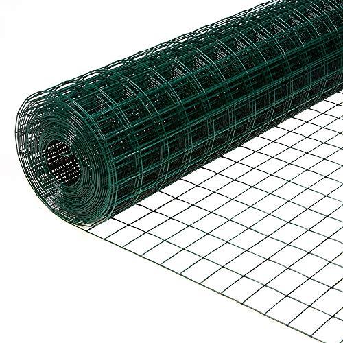 Oypla 0.9m x 4m Galvanised Steel Wire Mesh Netting Fencing