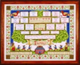 Design Works Crafts Counted Cross Stitch, Family Tree, 16 by 20 inches