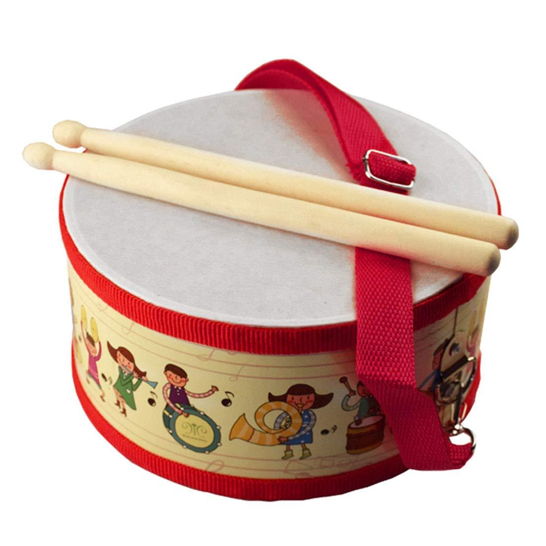 Xianheng Tambor Sounder Tambores en Estuche Instrumento Percusión Infantil Tambor Musical para Desarrollar el Potencial Musical de los Niños: Amazon.es: Juguetes y juegos