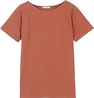 [神戸レタス] Tシャツ ボーダー コットン100% 半袖 シンプル カットソー トップス [C2104]