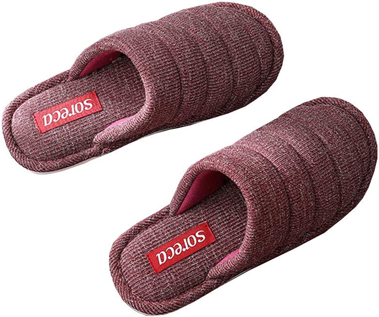 Winter Cotton Slippers Warm Memory Foam Cozy Soft Solid color Women Flat Home Indoor Outdoor Slipper shoes