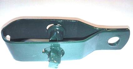 80 mm gr/ün kunststoffbeschichtet 1 St/ück, Gr/ün, Gr/össe 80 mm, 74 Gramm Einzelgewicht NRV-Outdoorbedarf Drahtspanner