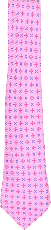 Kiton Men's Silk Grosgrain Crosses Necktie