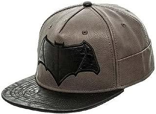 Batman vs. Superman- Black Bat Logo Snapback Hat Size ONE SIZE