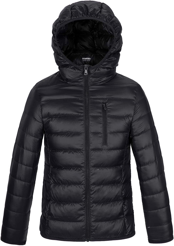 Wantdo Boy's Warm Winter Recommendation Coat OFFicial Ultra Ja Packable Lightweight Down
