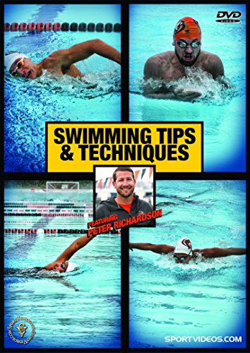 Swimming Tips and Techniques DVD - Master all the Swim Strokes - Freestyle, Backstroke, Butterfly and Breaststroke