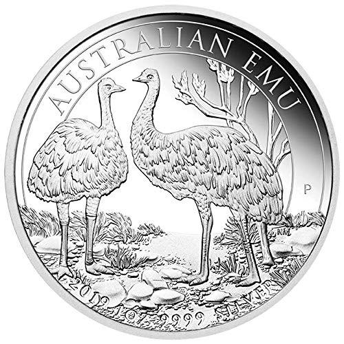 Perth Mint Australien Emu 1 Unze Silbermünze 2019