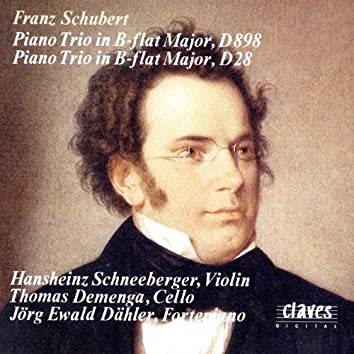 Schubert: Piano Trios D. 898 & D. 28
