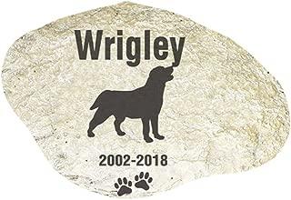 GiftsForYouNow Engraved Dog Memorial Garden Stone