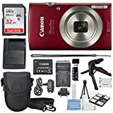 Best Compact Digital Cameras - Canon PowerShot ELPH 180 Digital Camera (Red) + Review