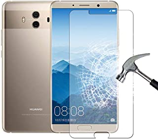 [2-packs] HuaWei Mate 10 Screen Protector, 9H Round Edge, Anti-Scratch and anti-Fingerprint,Bubble Free Tempered Glass Scr...