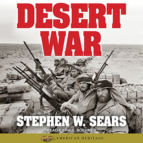 World War II: Desert War audiobook cover art