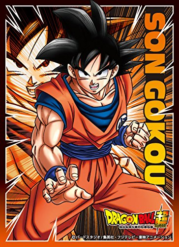Dragon Ball Super Son Goku Card Game Character Sleeves Collection EN-159 Anime Saiyan Husbando Z Battle of Gods Resurrection F image