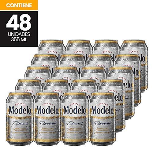 Cervezas Modelo Clara Especial 48 Latas 355 Ml