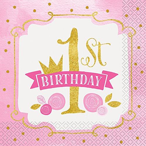 Partyartikel 1. Geburtstag Mädchen