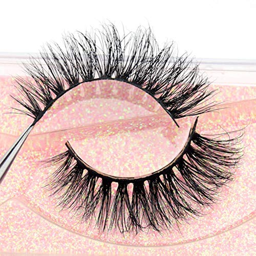 ABO Mink Eyelashes 3D Mink Lashes Full Strip Lashes Soft Faux Cils Maquillage Cils , visofree E08