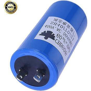 Jadeshay Motor Pump Run Capacitor,CBB60 AC 250V 60uF 50//60HZ,1pc