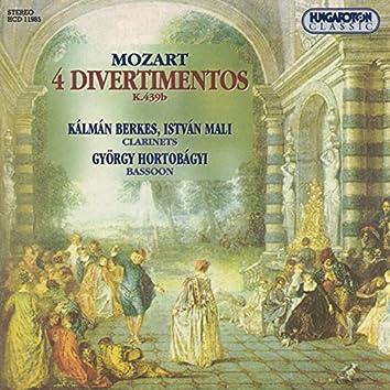 Mozart: Divertimentos in B-Flat Major No. 1, No. 2, No. 3 and No. 5