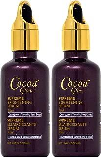 Cocoa Glow Supreme Brightening Serum 1.66 oz (Pack of 2)