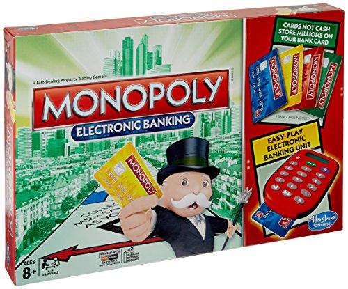Hasbro Monopoly Electronic Banking Gioco da Tavolo [Versione Inglese]
