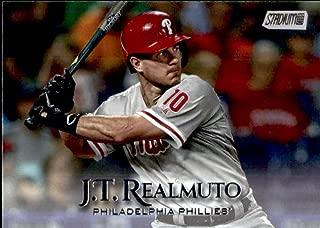 2019 Topps Stadium Club #166 J.T. Realmuto Philadelphia Phillies Baseball Card