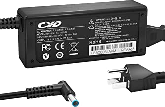 CYD 65W 19.5V 3.33A PowerFast Replacement for Laptop-Charger Hp Elitebook Elite X2 1011-G1 11-R010nr 11-R015wm Folio 1020-G1 1040-G2 1040-G3 13-C002dx 13-C020nr 10-E010nr 11-E010nr 11-E015dx