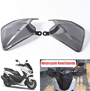 Motorrad Handschutz, Auzkong Bremse Kupplung Handguards ABS Handschutzschild für YAMAHA NMAX 125/150 / 155 (2015 2018), XMAX 250/300 / 400 (2017 2018), NVX 155 / Aerox 155 (2017 2018) 1 Paar