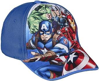Cerdá Gorra Avengers 001, 3 (Tamaño del Fabricante:M) para Niños, Multicolor