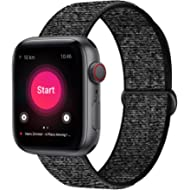 INTENY Sport Band Compatible with Apple Watch 38mm 40mm 42mm 44mm, Soft Lightweight Breathable...