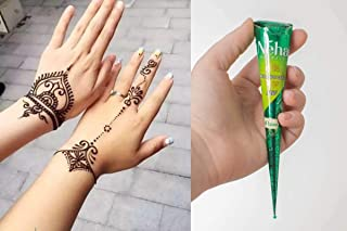Henna Tattoo inkt pasta cone tube 25 Gram/Natuurlijke Kruiden - Henna pasta - 25 gr/