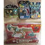新品未開封バットマン&天地無用!&デジモン海外版フィギュア ダイノアームズDZ-11ソードサウルス