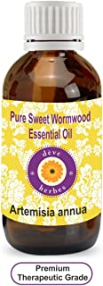 Deve Herbes Pure Sweet Wormwood Essential Oil (Artemisia annua) 100% Natural Therapeutic Grade Steam Distilled 30ml (1.01 oz)