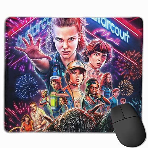 DHK S-Tranger T-Hings Mouse Pad Lightweight Premium-Textured Mouse Mat for Adults Kids