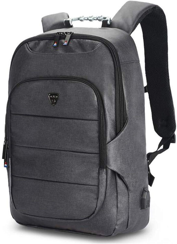WJH Business-Reiserucksack, Multi-Layer-35L-Wandern mit groem Fassungsvermgen, 15,6-Zoll-Laptop, Freizeitschultasche für Mnner und Frauen
