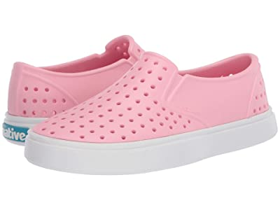 Native Kids Shoes Miles (Little Kid) (Princess Pink/Shell White 1) Girls Shoes