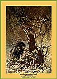 World of Art Arthur Rackham Mime, Howling, von The
