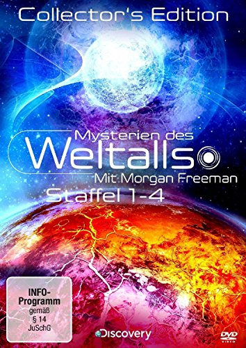 Mysterien des Weltalls - Mit Morgan Freeman, Staffel 1-4 (Collector's Edition, 8 Discs)
