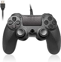 Controller Powcan PS4 Controller cablato per Playstation 4 Dual Vibration Shock Joystick Gamepad per PS4 / PS4 Slim / PS4 ...
