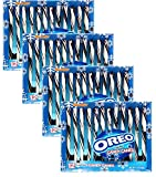 OREO Candy Canes Flavored Hard Seasonal Candy Cane - Perfect For Kids and Adults 6 oz. 12 Ct for Christmas - Perfect Winter Snack for Xmas - Pack of 4 (48 Total Candy Canes)