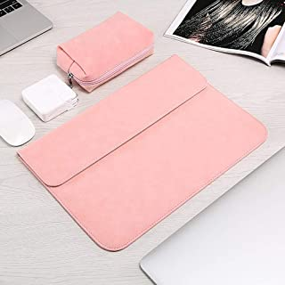 ZYDP for MacBook 11 12 13 15 Inch Color : Rose red, Size : for MacBook 12 inch Nylon Laptop Bag Sleeve Pouch for Apple Mac Book Air Pro Retina 13.3 15.4 Touch Bar